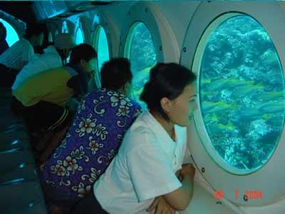 pesan odyssey submarine bali